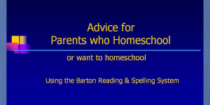 Homeschool Video
